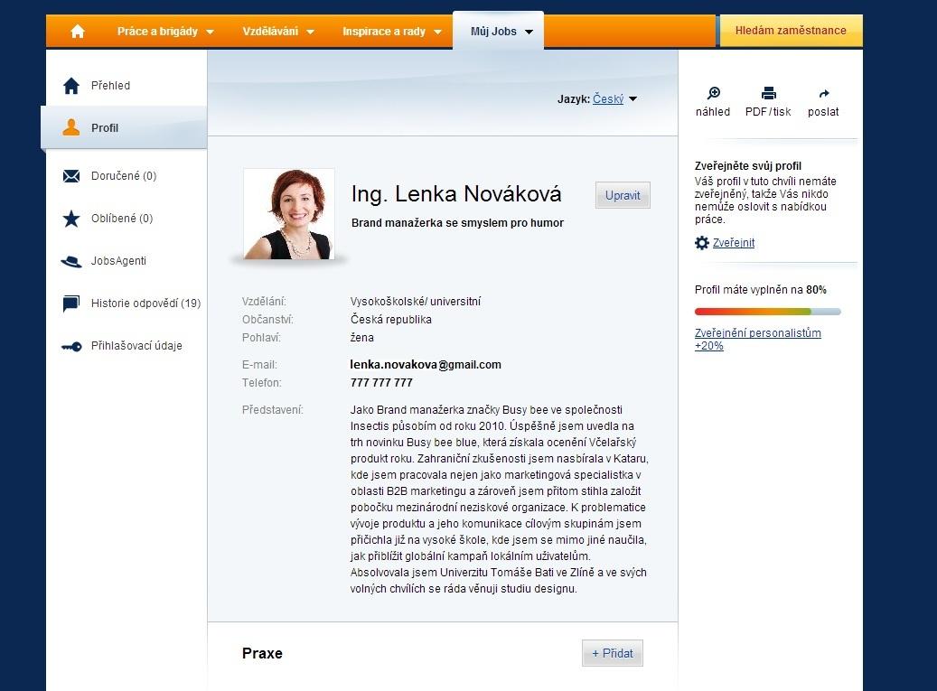 Jak Vypada Online Cv Kteremu Nehrozi Delete Poradna Jobs Cz