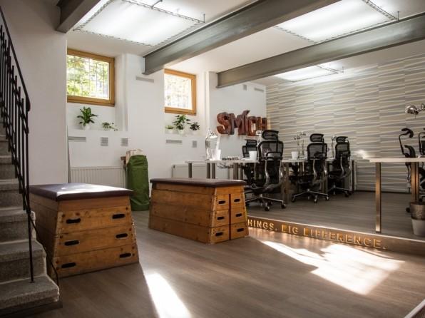 Velká fotogalerie: Firmy s nejhezčími kancelářemi