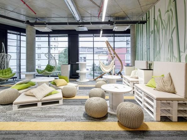 Velká fotogalerie: 8 firem s nejhezčími kancelářemi