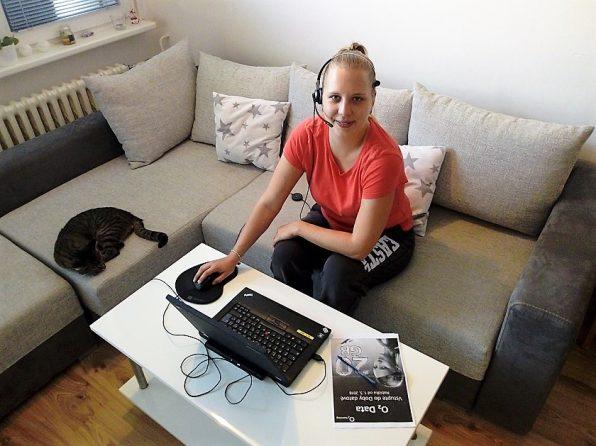 Call centrum se dá dělat i jako práce z domova